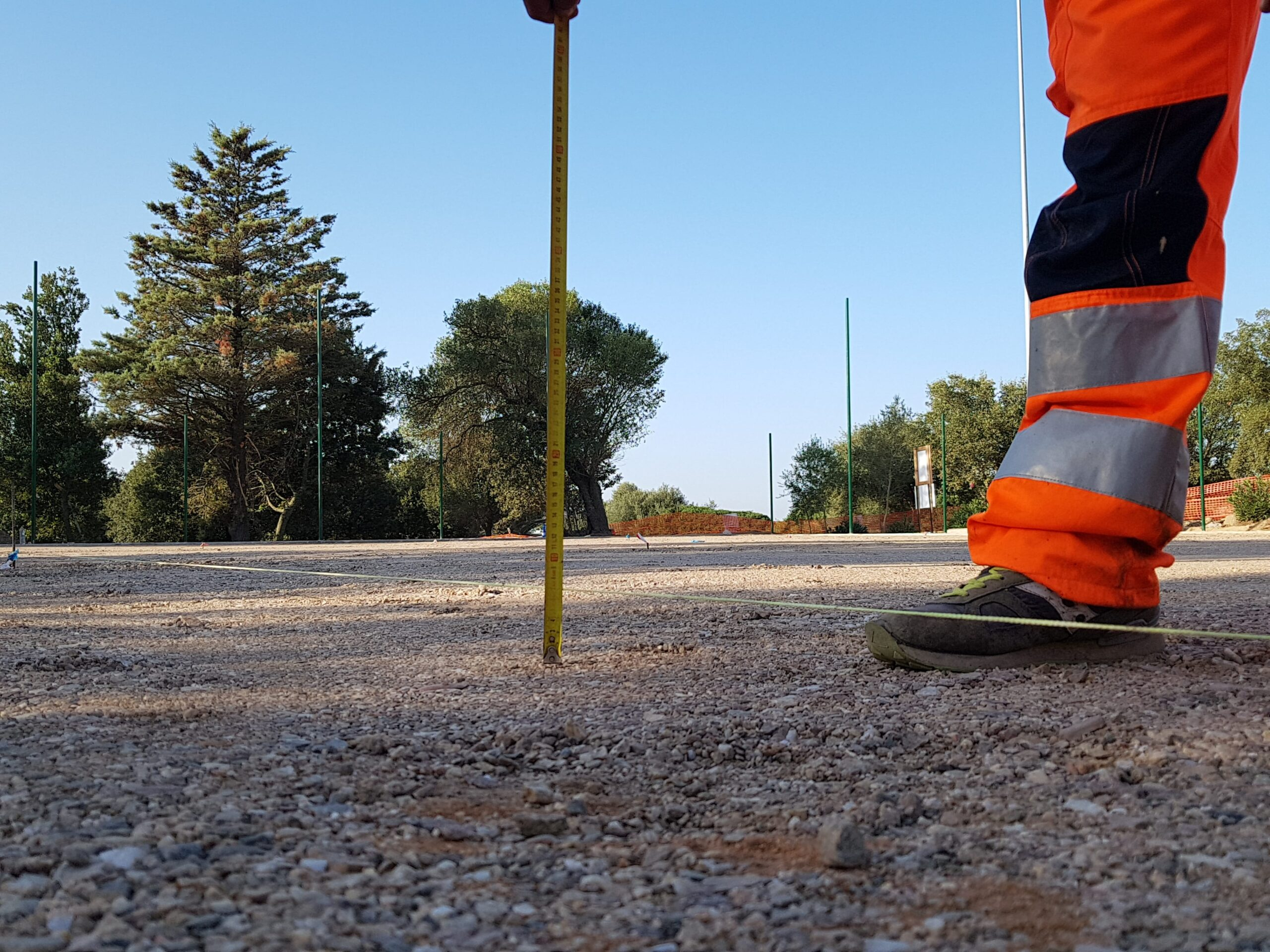 FF Serci, lavorazioni- Conglomerati bituminosi in Sardegna